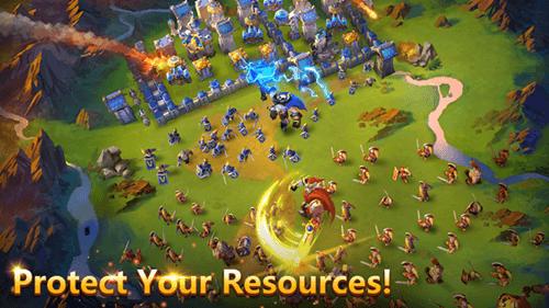 Castle-Clash-Brave-Squads-Gameplay
