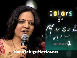 Sandhya in Colors of Music -2 with Swapna
