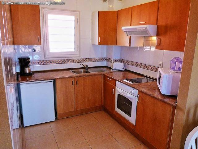 Küche im Zimmer - Aparthotel El Duque Teneriffa Costa Adeje