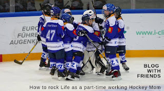Blog With Friends, a multi-blogger project based post incorporating a theme, Rock It | How to Rock Life as a Part-Time Working Hockey Mom by Tamara of Part-Time Working Hockey Mom | Featured on www.BakingInATornado.com