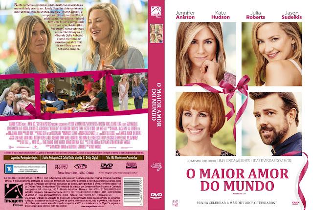 Capa DVD O Maior Amor Do Mundo