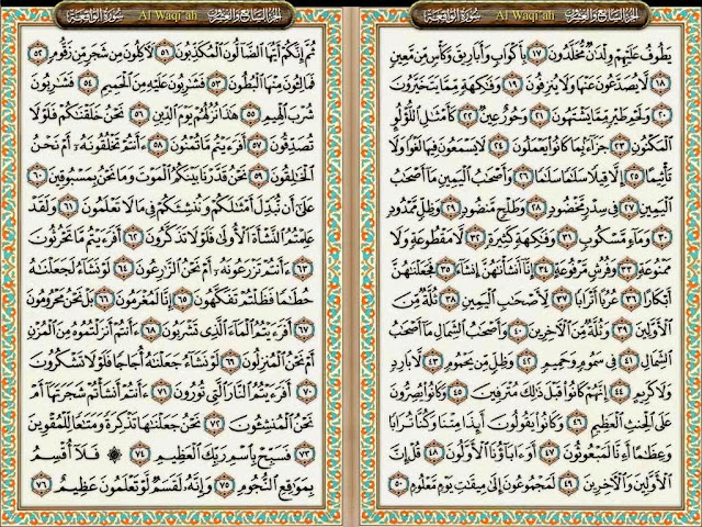 Kisah Nyata Dahsyatnya Khasiat Surat Al Waqiah Untuk