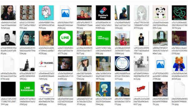 Cara Menyimpan Foto Profil Line Teman ke Galery Kualitas Bagus