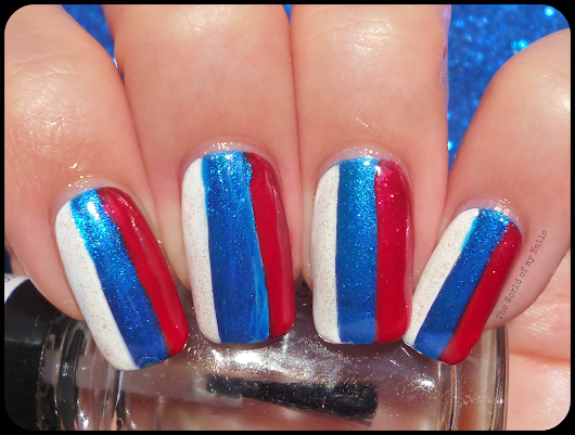 Matching Manicures Sunday: Inspired by a Flag