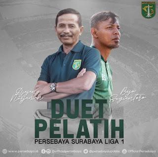 Resmi, Djanur Jadi Pelatih Baru Persebaya Surabaya