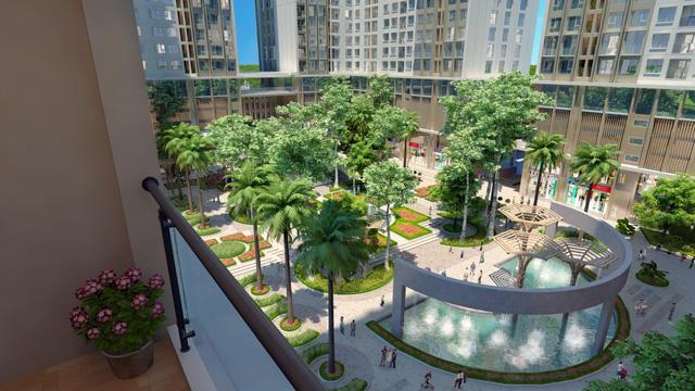 Khuôn viên cảnh quan dự án Eco Green City