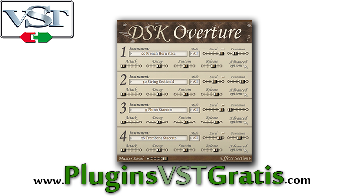 DSK Overture - Plugin VST de Orquestra Grátis