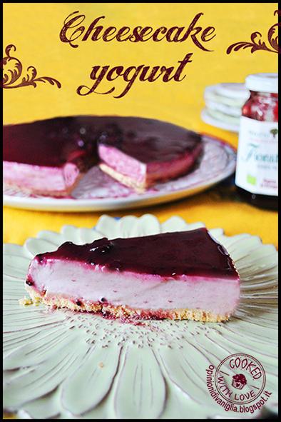 Cheesecake allo yogurt senza lattosio e senza glutine bimby