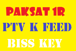 PTV K FEED New Biss Key ON Paksat 1R 38.0 E