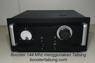 Boster 144 Mhz menggunakan Tabung