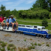 Mud Creek offers unusual train rides