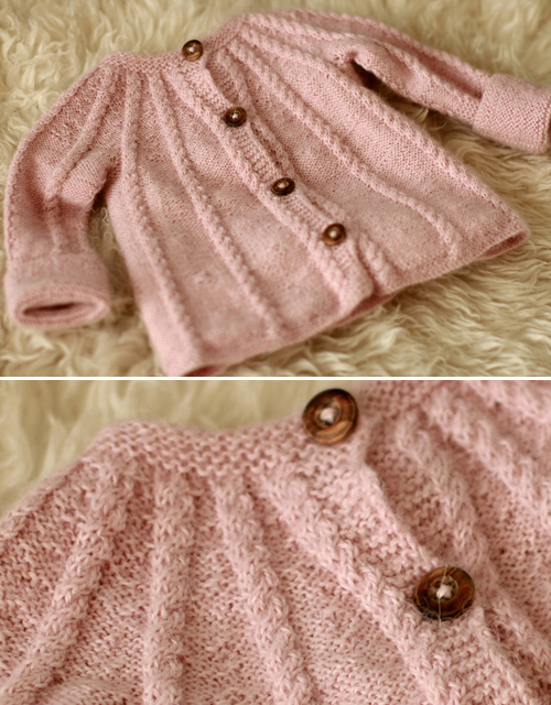 Beautiful Baby Jacket - Free Pattern