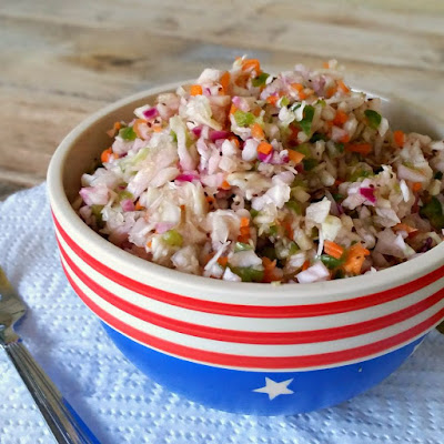 Pennsylvania Dutch Pepper and Cabbage Slaw