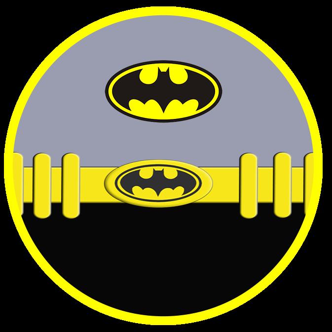 Toppers o Etiquetas para Imprimir Gratis de Batman.