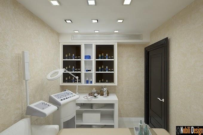 Design interior salon cosmetica - Amenajare interioara coafor Bucuresti