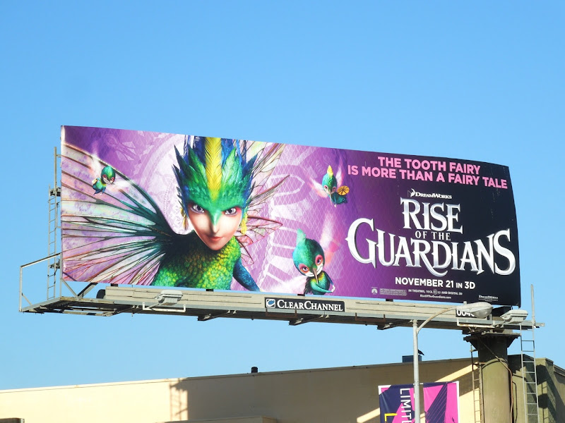 Tooth Fairy Rise of Guardians billboard