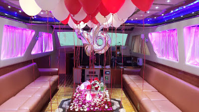 Birthday Celebration on a Yacht