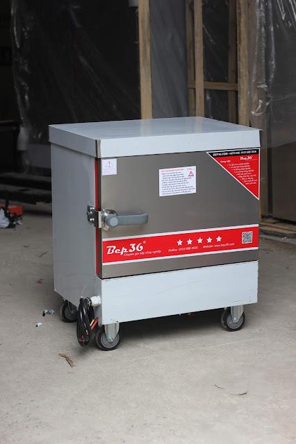 Tủ nấu cơm 4 khay điện, thiết bị hấp nhỏ gọn thông minh