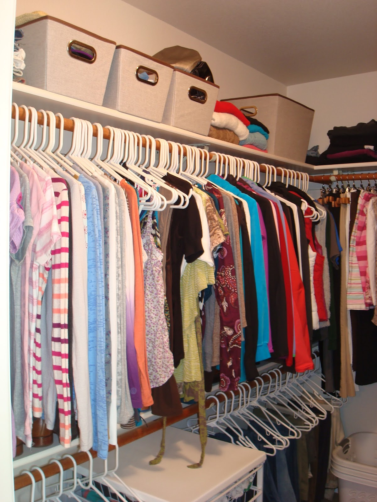 Organizing A Master Bedroom Closet His And Hers Closet