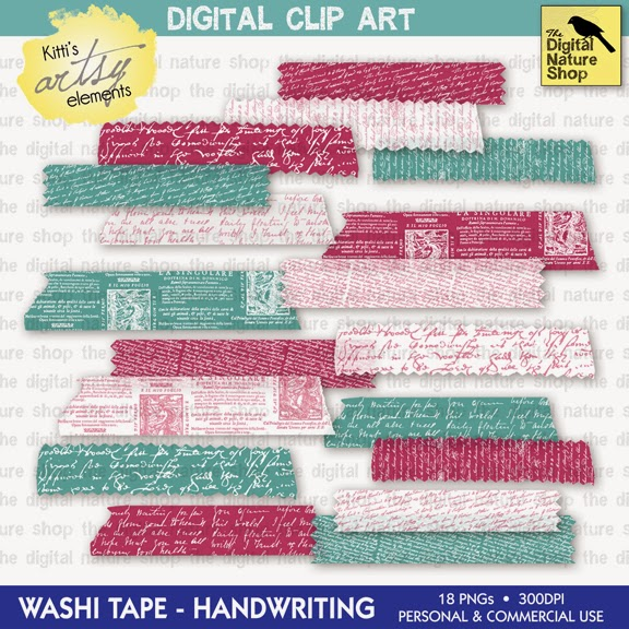 https://www.etsy.com/listing/178816204/digital-washi-tape-antique-handwriting