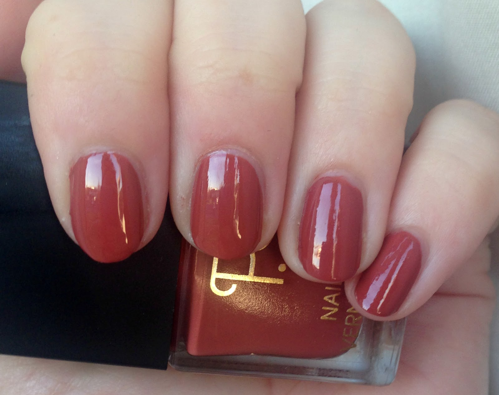 rare opal: PS Nail Polish in Burnt Orange