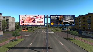 ets 2 real advertisements v1.3 screenshots, russia 1