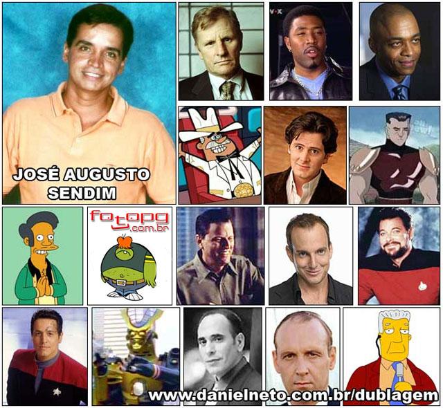 Meio Cérebro: Personagens e suas vozes: Dubladores