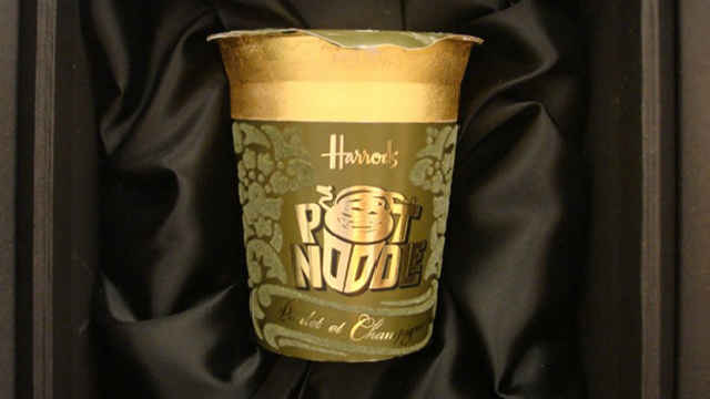 Harrods Pot Noodle