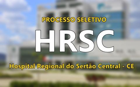 Apostila Hospital Regional do Sertão Central - HRSC 2017 - Técnico de Enfermagem.