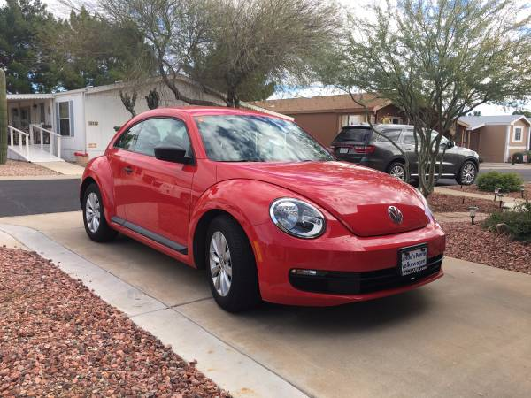 2014 Red Volkswagen Beetle