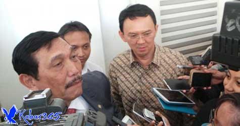 Luhut Sebut Ahok Ingin Ikut Kampanye dan Senang Jokowi Pilih Ma'ruf