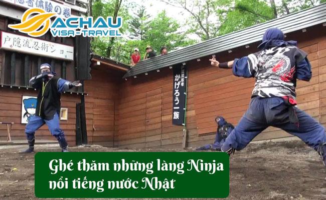 lang ninja noi tieng nuoc nhat