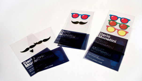 cartao visita criativo em pvc 2 - 13 Cartões de Visita extremamente criativos