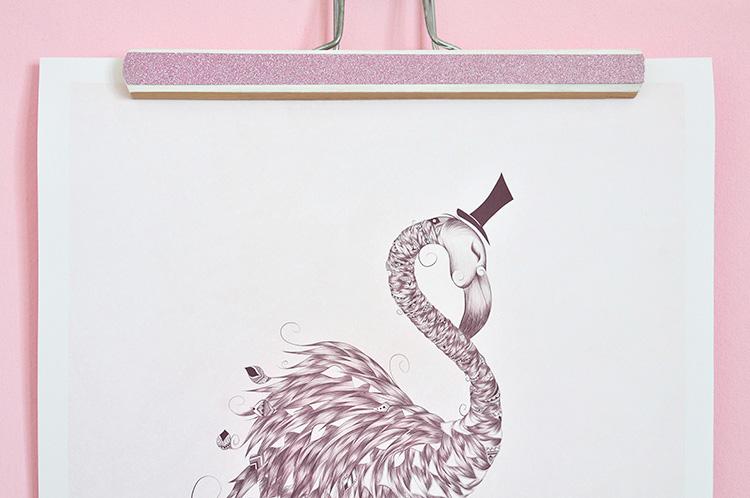 miss red fox diy posterrahmen in zwei varianten inkl giveaway. Black Bedroom Furniture Sets. Home Design Ideas