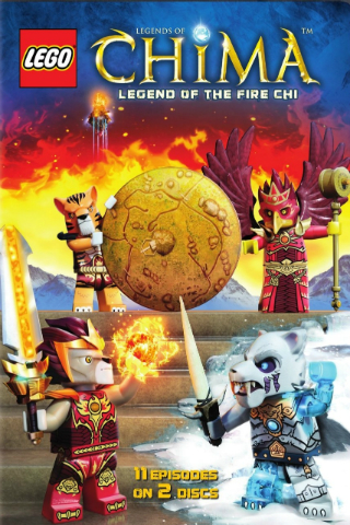 Lego: Legends of Chima: Legend of the Fire CHI [2015] [DVDR] [NTSC] [Latino]