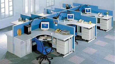 vách ngăn bàn làm việc cho văn phòng
