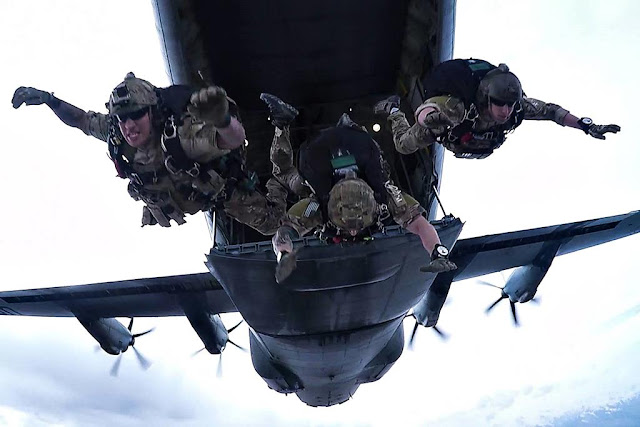 USAF Guardian Angel free fall jump