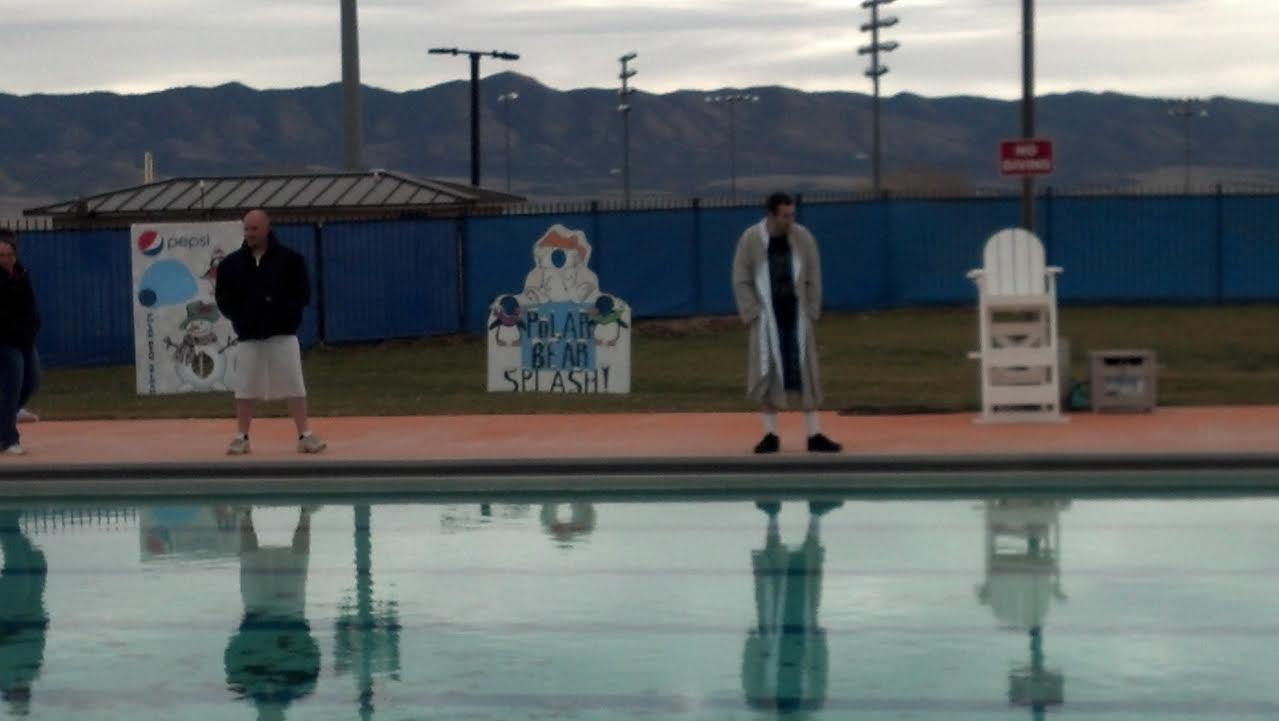 Oddball Observations The Polar Bear Splash