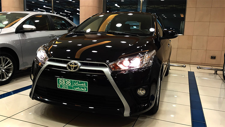 Toyota Yaris 2016 hatchback