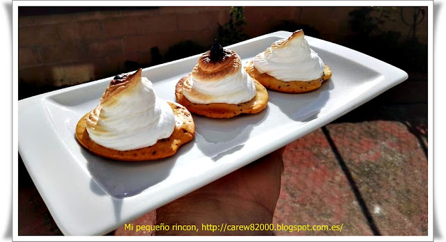 Galletas mari�eiras con merengue