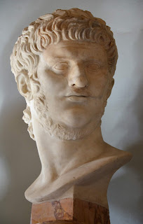 The bust of Nero in the Capitoline Museum in Rome