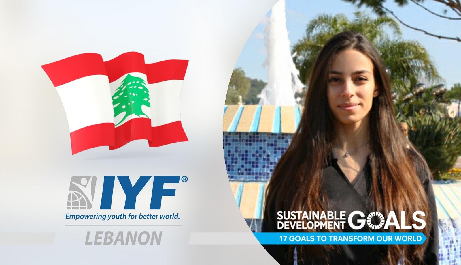 Maryam Nsaif, IYF Representative in Lebanon