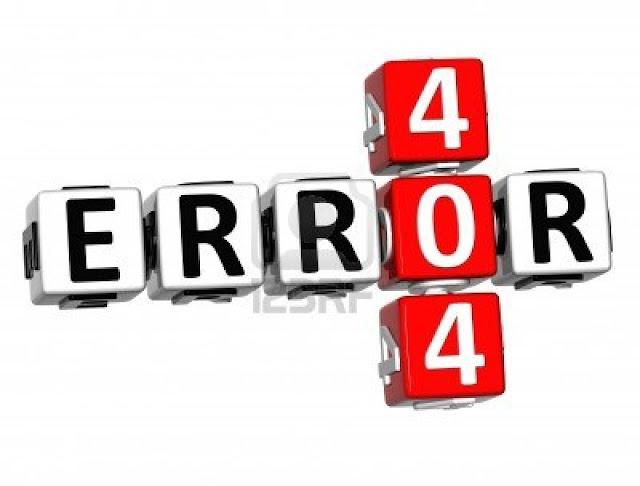 Cara Membuat dan Mengubah Halaman ERROR 404 Menjadi Menarik dan Unik di Blogspot