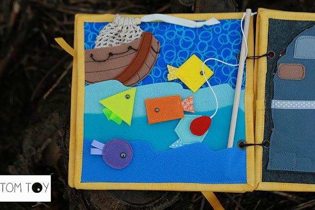 Bible quiet books handmade by TomToy Fishers of men