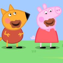 Peppa pig coloreando