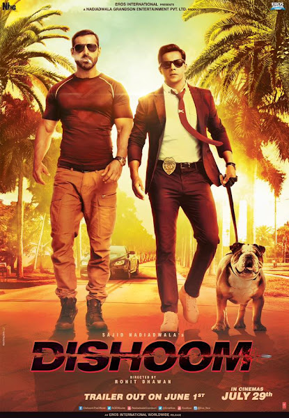 Dishoom (2016) Movie Poster