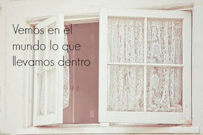 """""""Vemos en el mundo lo que llevamos dentro"""" (Sergio Fernández)"""