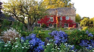 Foto del día. Jardines en otoño. Gray House in Oxfordshire