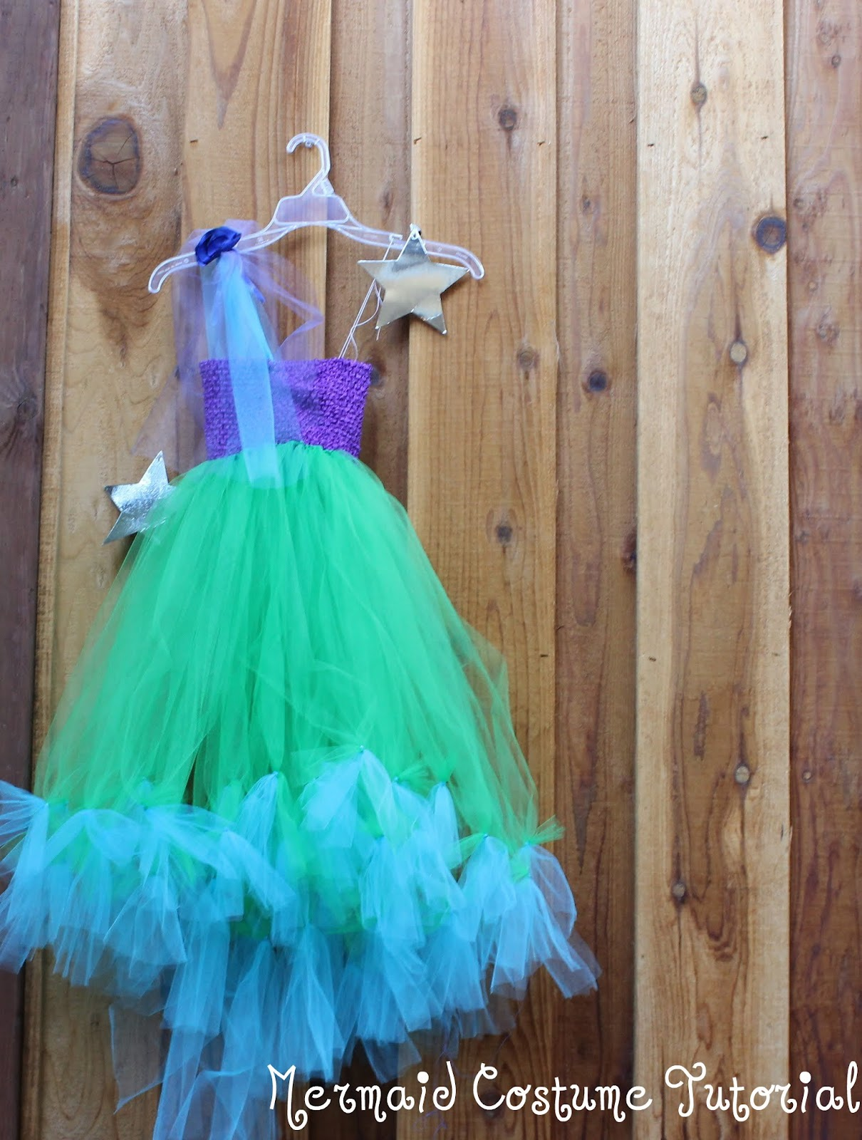 Make a no sew halloween costume for 20 mermaid princess or fairy what if i told you that you could make her favorite costume yourself for less than 20 solutioingenieria Choice Image