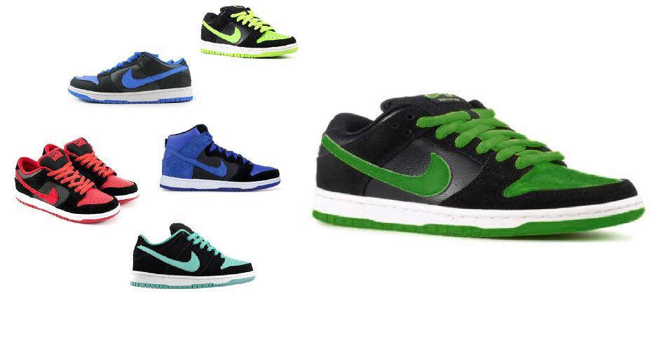 new york f00b0 0bfa5 Nike SB Dunk 'J-Pack' / Jordan Pack (2005, 2011,2012, 2014 ...